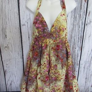 Tracy Reese Halter Dress Size 8